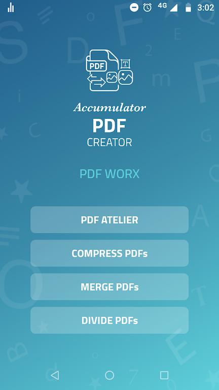 Accumulator PDF creator  poster 2