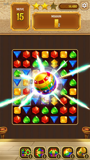 Cleopatra's Jewels - Ancient Match 3 Puzzle Games 1.2.2 screenshots 2