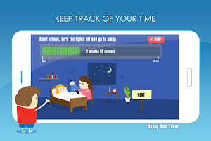 Happy Kids Timer Morning & Evening Routine Chores
