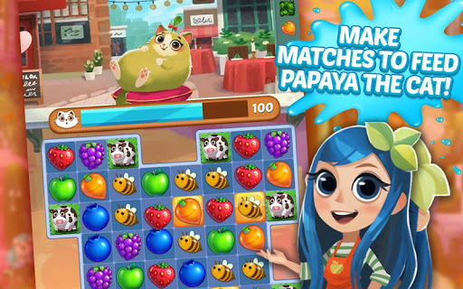 Juice Jam - Puzzle Game & Free Match 3 Games Apkfinish screenshots 21