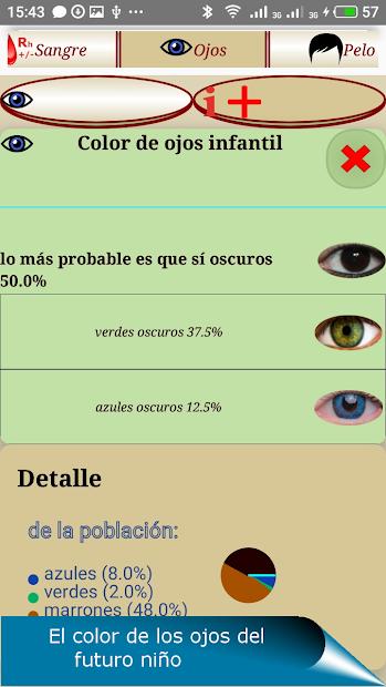 Screenshot 3 de QUIS - pronóstico genético para android