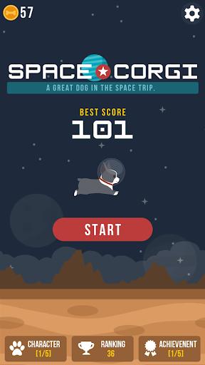 Space Corgi - Dog jumping space travel game 31 screenshots 1