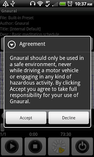 Gnaural for Android For PC Windows (7, 8, 10, 10X) & Mac Computer Image Number- 10