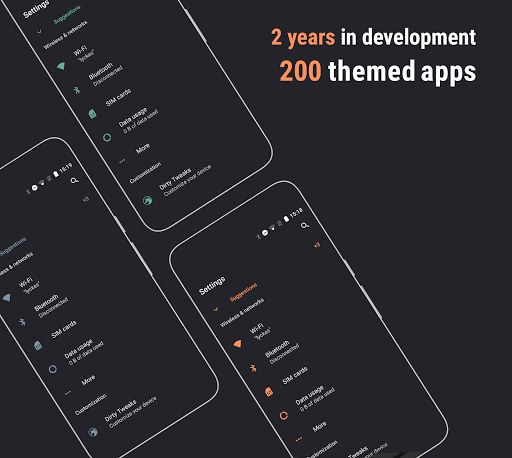 Download APK: Swift Dark Substratum Theme v305 [Patched]