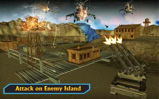 Gunship Helicopter Air War Strike android2mod screenshots 10