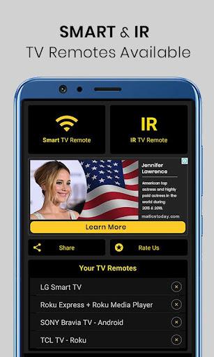 Universal TV Remote Control 1.1.6 screenshots 1