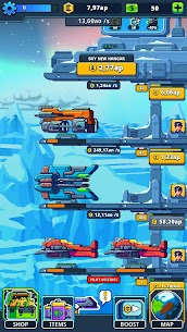 Idle Space Tycoon MOD APK 1.5.3 (Unlimited Credits) 2