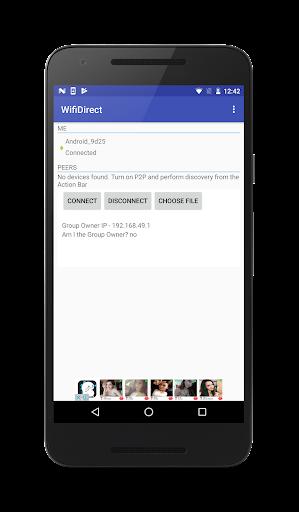 WiFiDirect 1.1.0 Screenshots 1