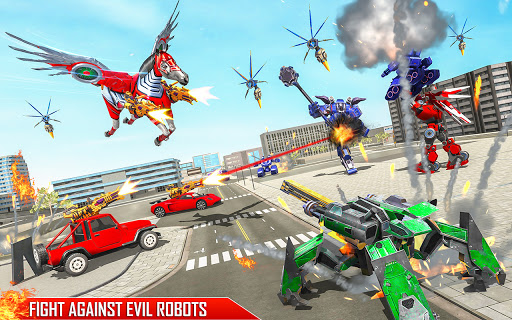 Horse Robot Games - Transform Robot Car Game 1.2.3 screenshots 16