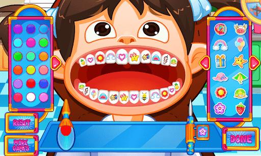 Fun Mouth Doctor, Dentist Game apktram screenshots 13
