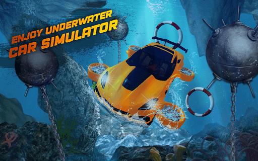 Underwater Flying Car Game 1.0.2 screenshots 1