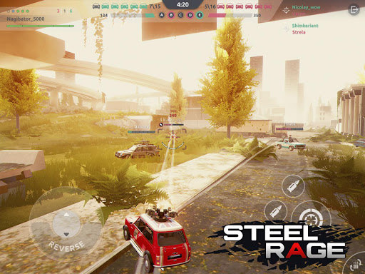 Steel Rage: Mech Cars PvP War, Twisted Battle 2020  screenshots 12