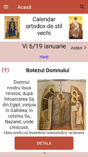 Calendar ortodox de stil vechi  Screenshots 1