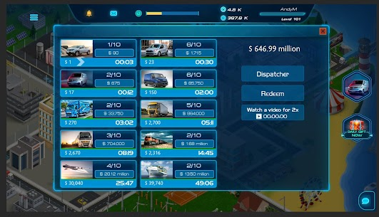 Virtual Truck Manager 2 MOD (Free Stuff) 5