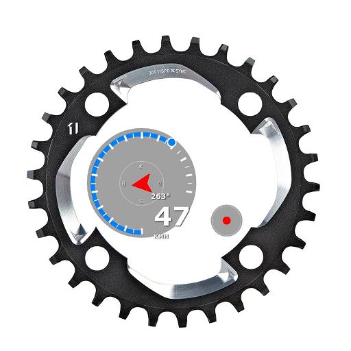 G Peak Lite bike computer speedometer icon