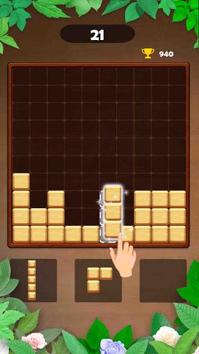 Wood Block Puzzle: Reversed Tetris & Block Puzzle android2mod screenshots 2