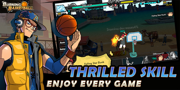 Free Burning Basketball Apk Download 2021 4