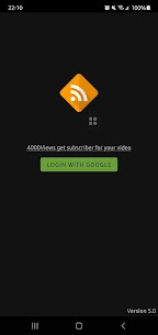 4000VIEWS – GET SUBSCRIBER, LIKE and VIEWS App For Android 1