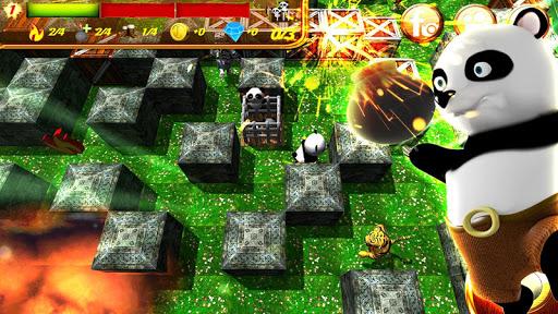 Hero Panda Bomber: 3D Fun APK MOD – ressources Illimitées (Astuce) screenshots hack proof 2