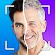未来の顔アプリ:年をとるとどのように見えるか