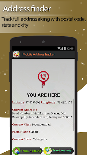 Live Mobile address tracker 1.9.45 screenshots 2