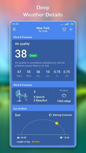 Weather Forecast - Accurate Local Weather & Widget 1.0.9 screenshots 5