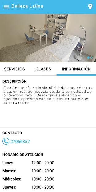 Belleza Latina screenshot 2