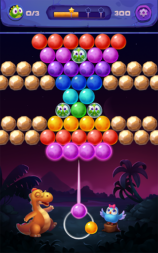 Bubble Shooter: Primitive Dinosaurs - Egg Shoot 1.04 screenshots 1