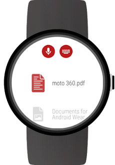 Documents for Wear OS (Android Wear)のおすすめ画像2