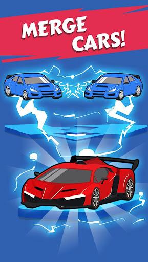 Merge Car game free idle tycoon screenshots 6