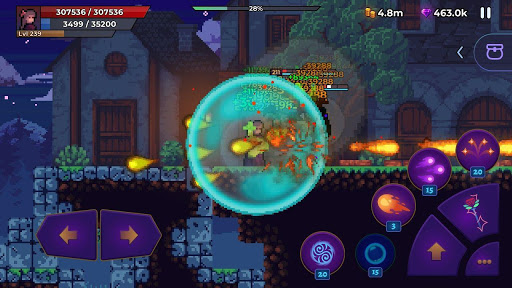 Moonrise Arena - Pixel Action RPG android2mod screenshots 3
