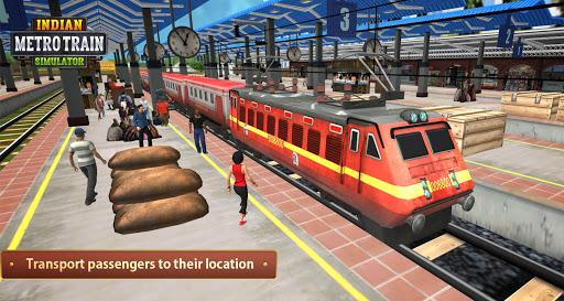 Indian Metro Train Simulator 2020 1.0.9 screenshots 1