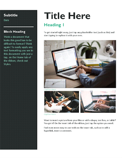 Free Email Newsletter Templates  screenshots 3