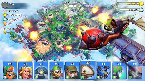 Sky Clash: Lords of Clans 3D Screenshot