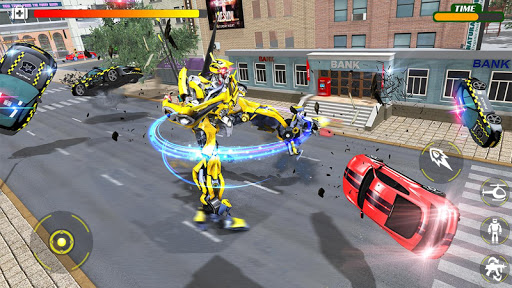 Helicopter Robot Transform War u2013 Air robot games  screenshots 7