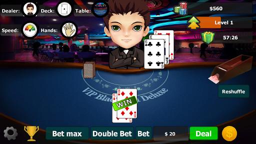 vip blackjack 21 deluxe screenshot 3