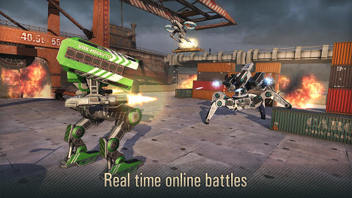 WWR: Warfare Robots Game (PvP of War Robots) screenshots 11