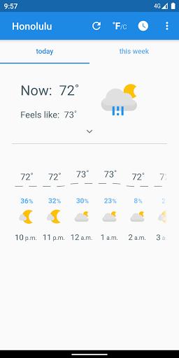 just weather  screenshots 1