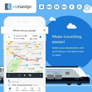 Vianavigo - Transport in Île-de-France Screenshot
