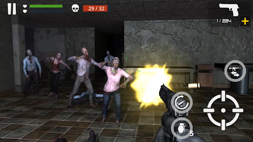 Télécharger Dead Zombie Battle (Green Blood Version) APK MOD (Astuce) screenshots 4