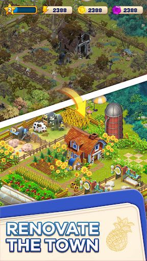 Merge Town : Design Farm  screenshots 7