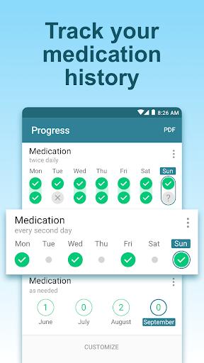 Pill Reminder & Medication Tracker - MyTherapy 3.68.2 Screenshots 4