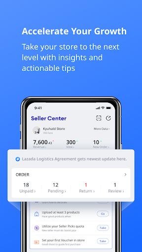 Lazada Seller Center - Online Selling! 2.26.4 Screenshots 5