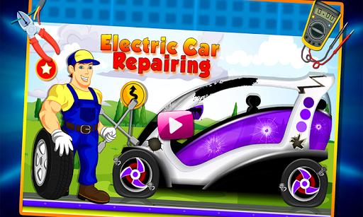 Electric Car Repairing - Auto Mechanic Workshop  screenshots 1