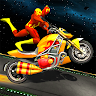 Superhero GT Bike Racing Stunt 2021 game apk icon