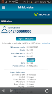 Movistar Screenshot