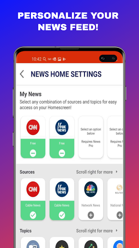 News Home - Local & World News on Your Home Screen android2mod screenshots 6