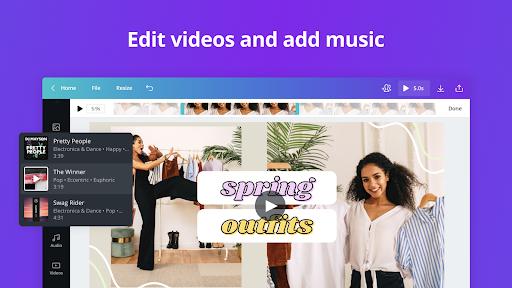 Canva: Graphic Design, Video Collage, Logo Maker screenshots 20