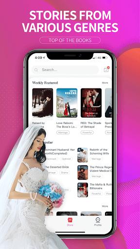 GoodNovel -  Books, WebNovel, Romance Story 1.3.0.1041 Screenshots 1
