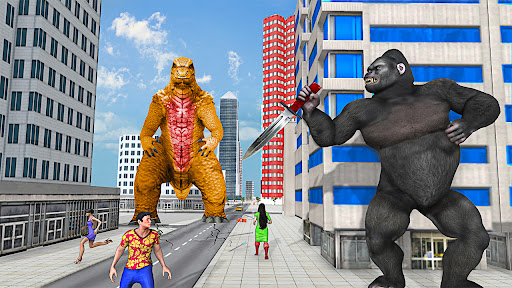 Crazy Gorilla GT Rampage-Superhero Mega Ramp Stunt apkdebit screenshots 9
